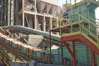 Convert Ep Filters To Bag Filters Line 2 Assiut Cement Co.