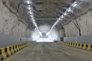 Electrical installation for al qushashiyah tunnel at shamiyah third saudi expansion project of holy makkah